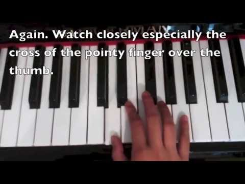 shake your tail feather piano tutorial