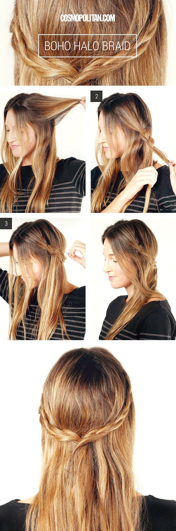 how to do a twist braid tutorial
