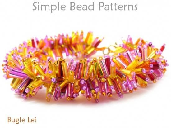 beaded fringe necklace tutorial