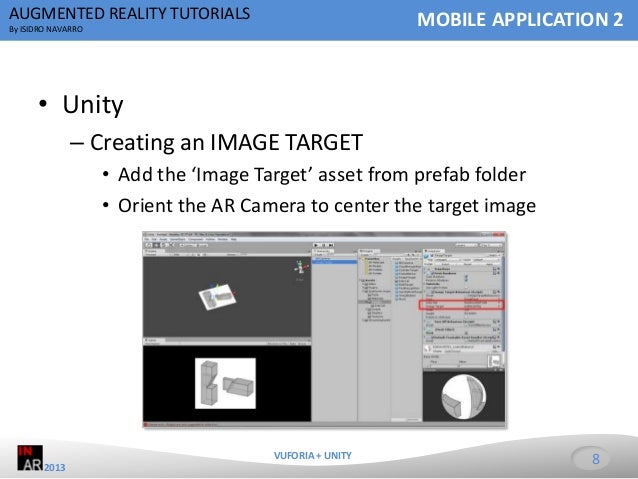 augmented reality tutorial unity