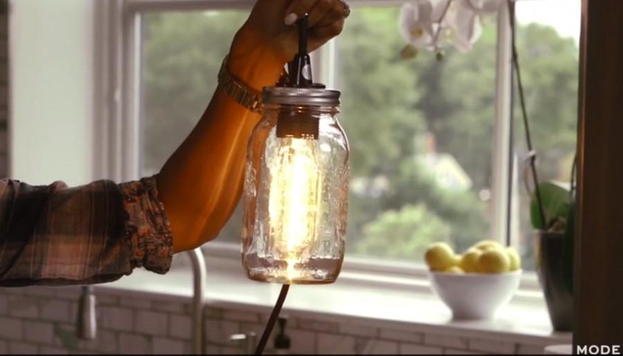 mason jar chandelier tutorial