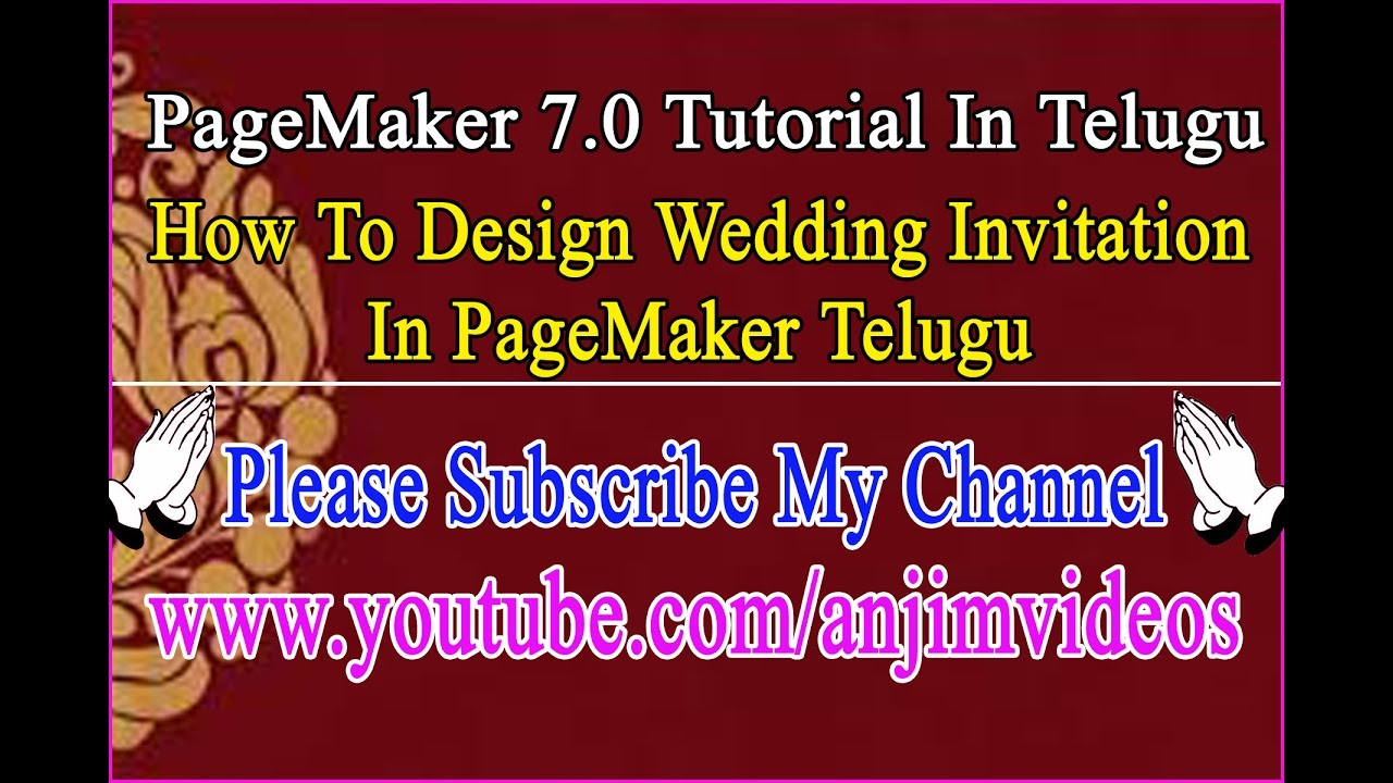pagemaker 7.0 tutorial