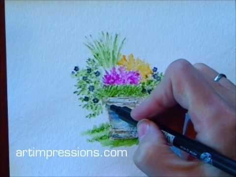 art impressions watercolor tutorial