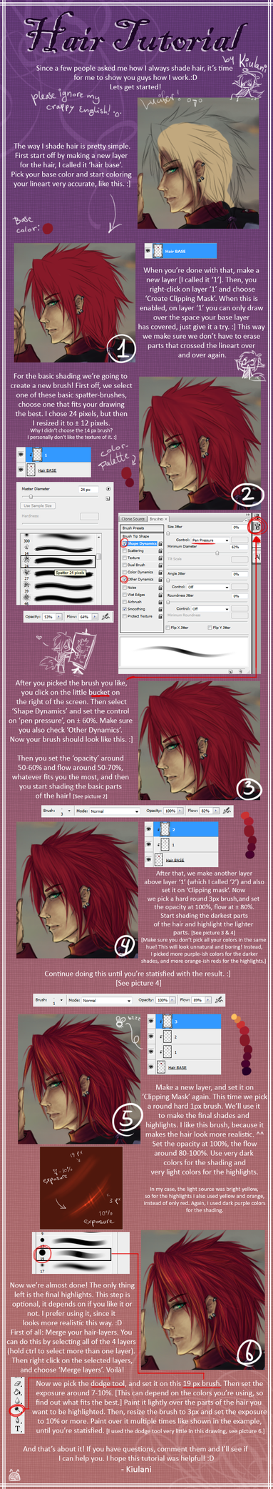 photoshop painting tutorial deviantart