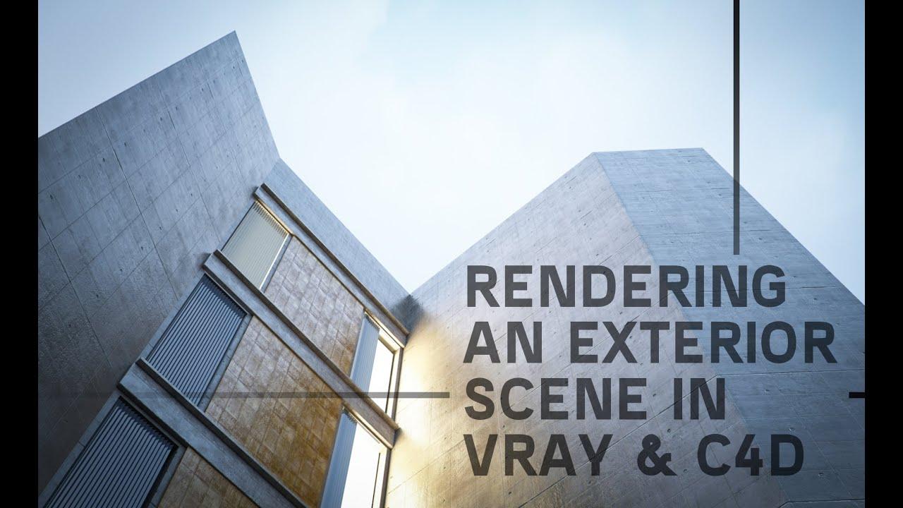 vray for cinema 4d tutorial