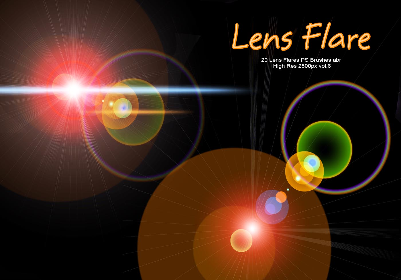 lens flare photoshop tutorial
