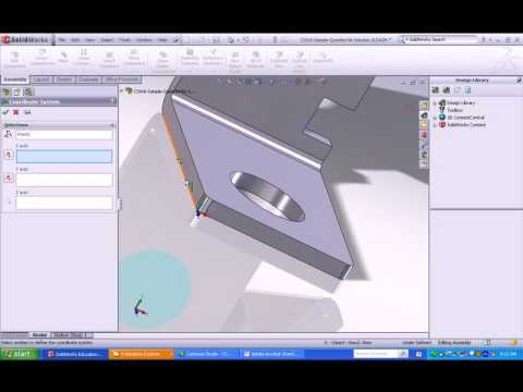 solidworks advanced assembly tutorial pdf