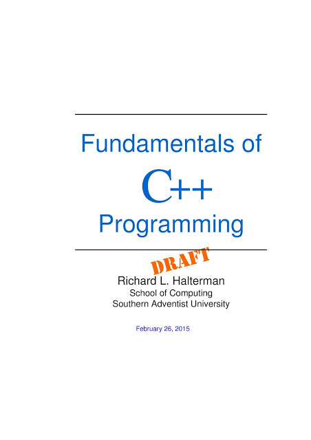 c++ programming tutorial pdf