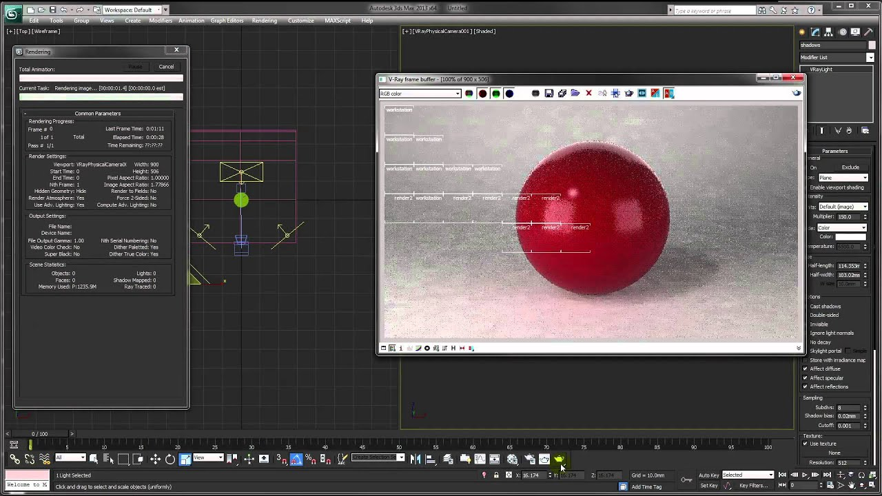 3ds max v ray tutorial