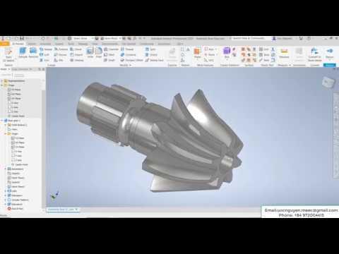 autodesk inventor cam tutorial