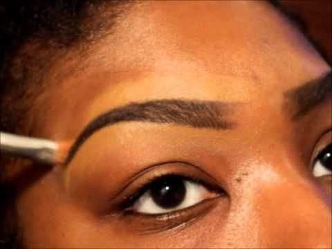 anastasia eyebrow kit tutorial