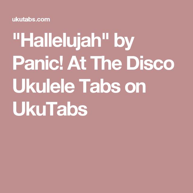 panic at the disco ukulele tutorial