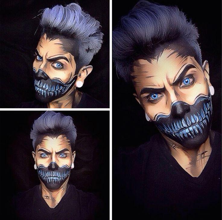 joker makeup tutorial male