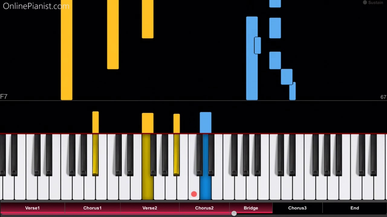 all star piano tutorial