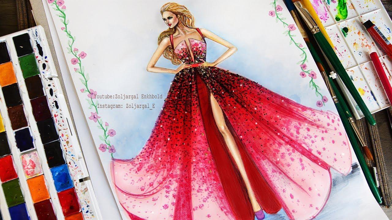 fashion illustration tutorial for beginner