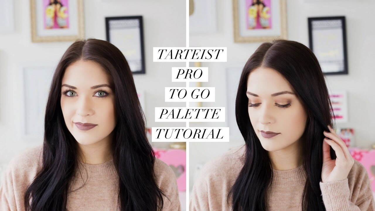 tarte tarteist pro to go tutorial
