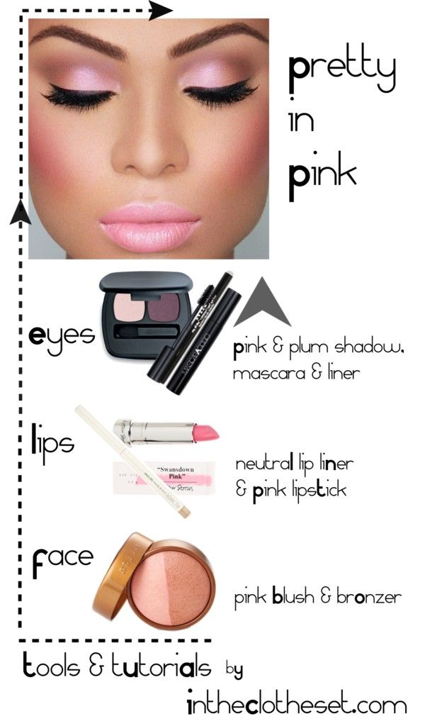 pretty pink makeup tutorial