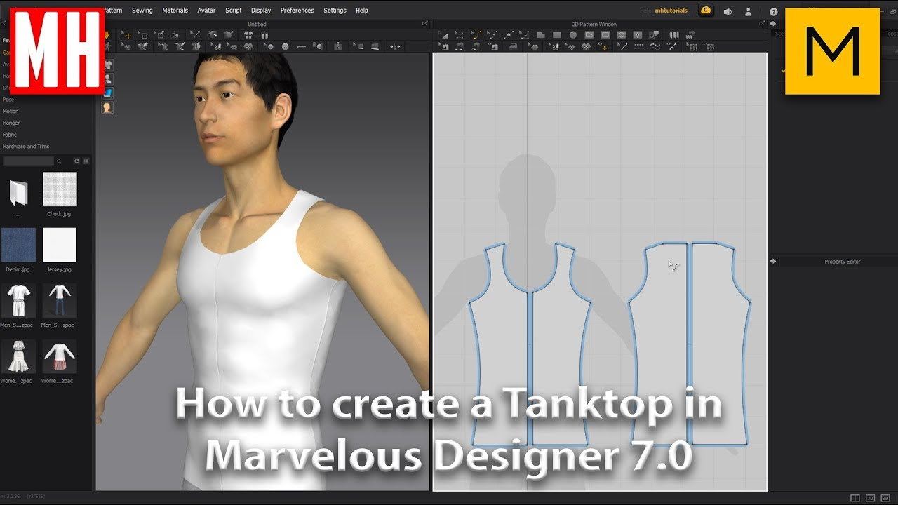 marvelous designer 6 tutorial