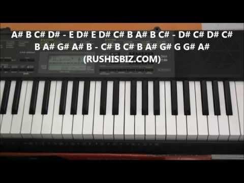 tong hua piano tutorial easy