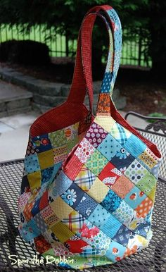 quiltsmart mondo bag tutorial