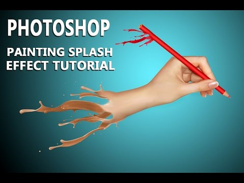 photoshop painting effect tutorial