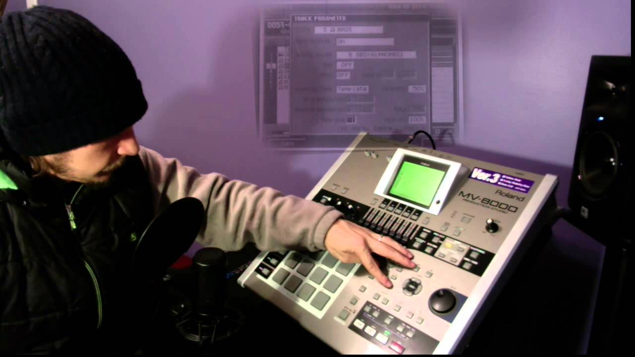 roland mv 8000 tutorial