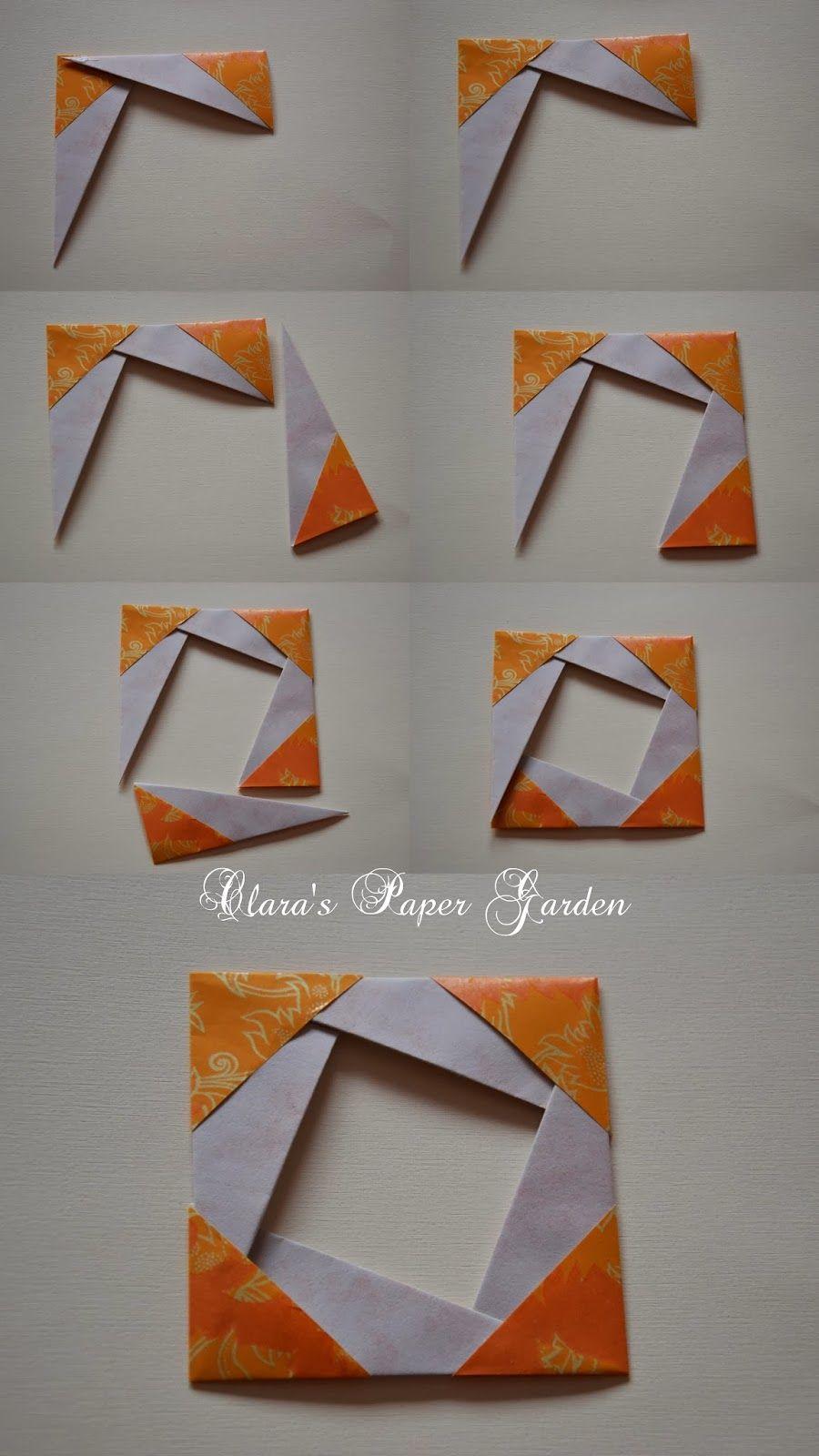 origami wall art tutorial