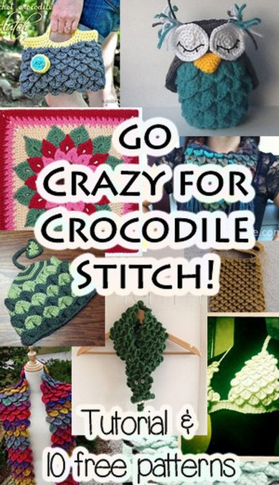 crocodile stitch tutorial video