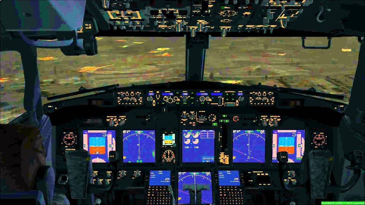 fsx ils landing tutorial 737