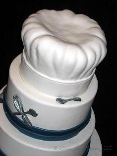 chef hat cake tutorial