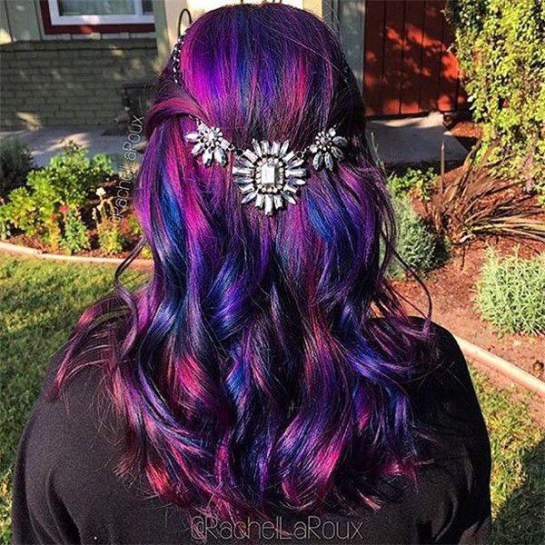 galaxy hair color tutorial