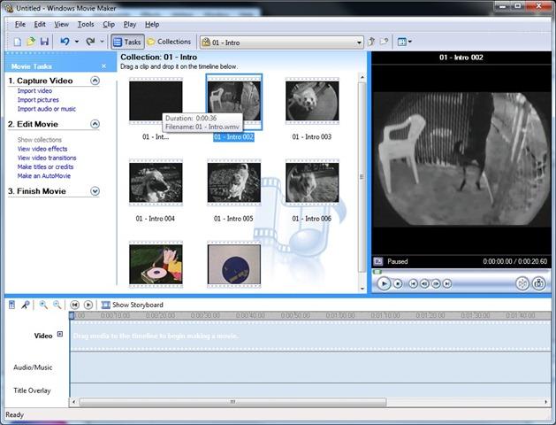 windows movie maker 6.0 tutorial