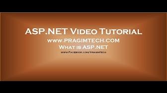 asp net tutorial for beginners