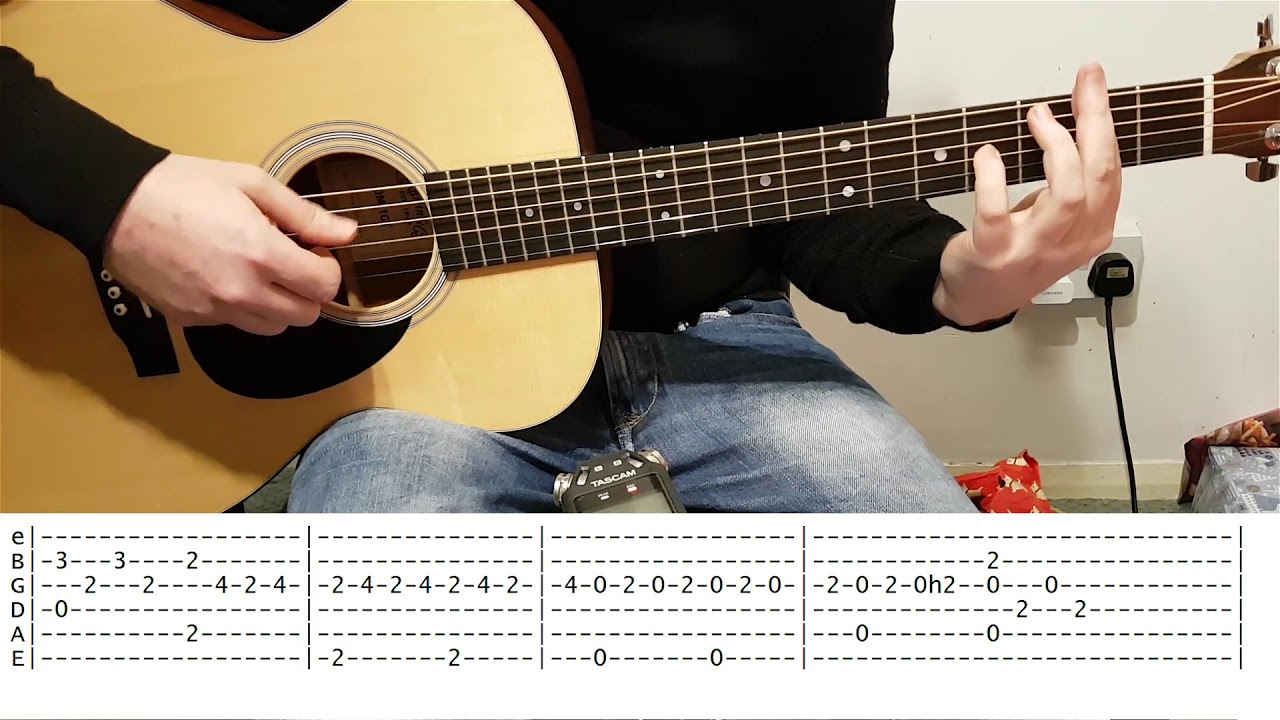 across the universe tutorial guitar