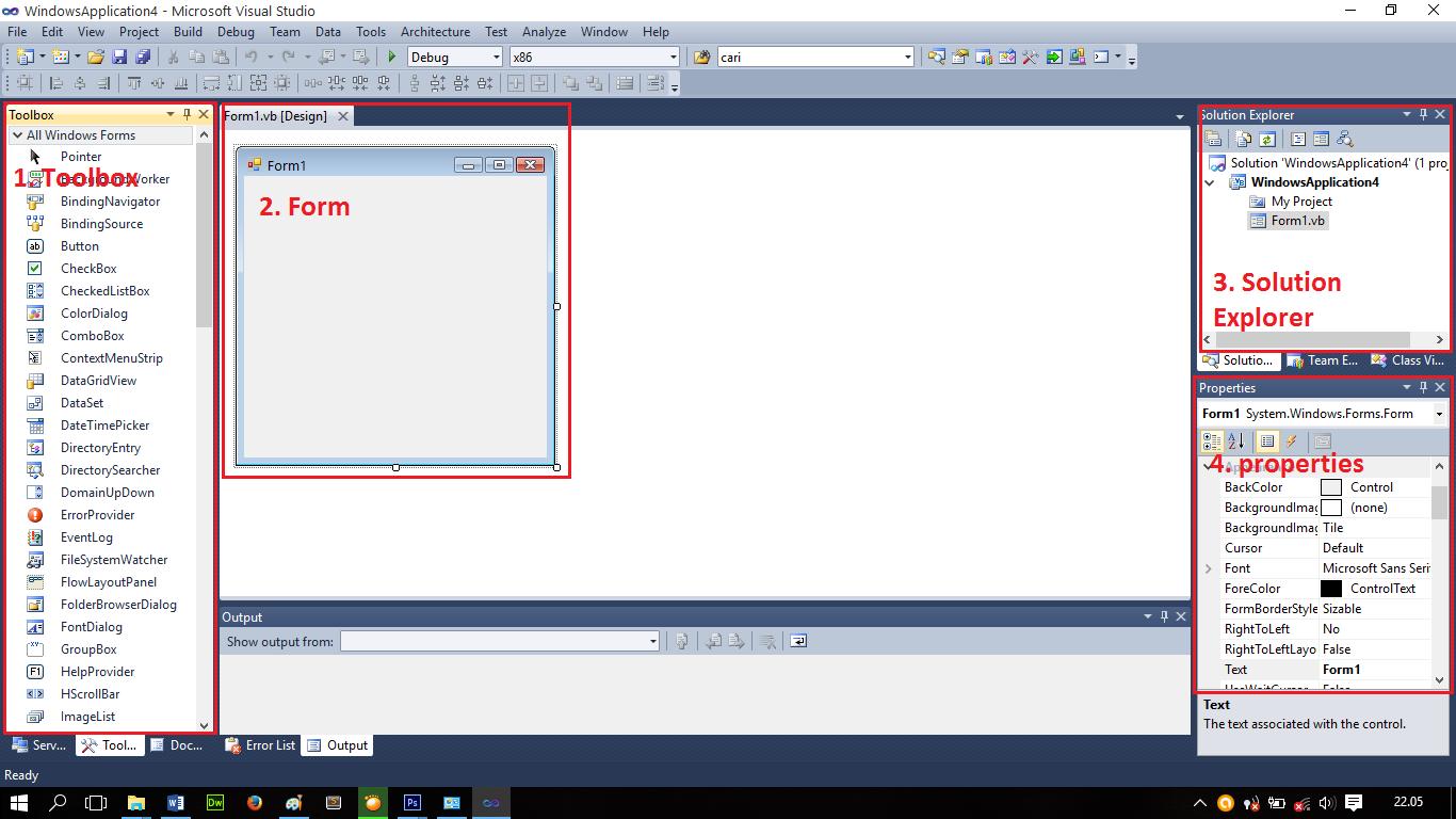 visual basic net tutorial