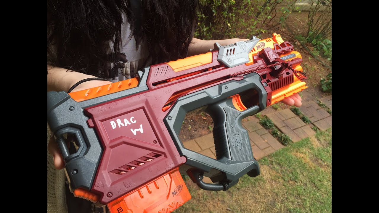 nerf gun paint tutorial