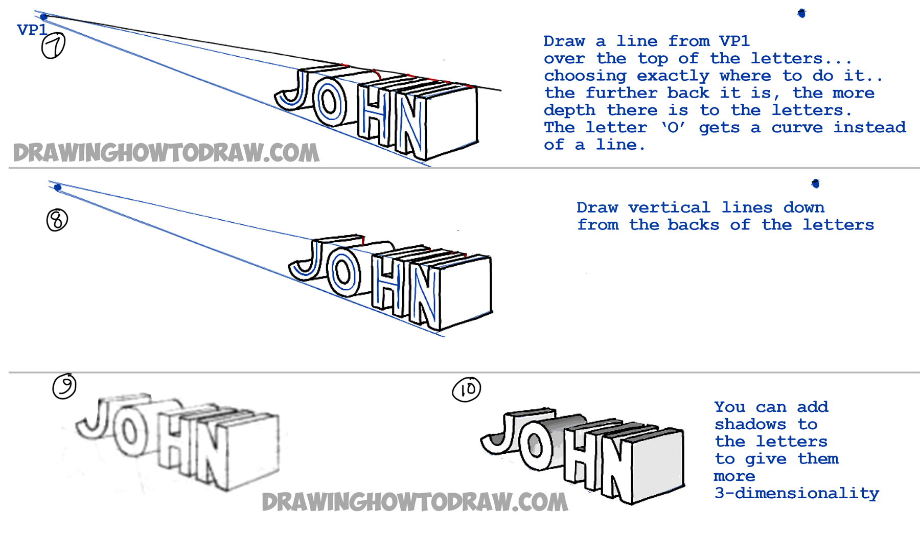 perspective drawing tutorial pdf