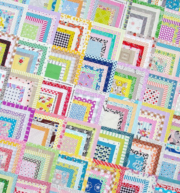 log cabin quilt tutorial