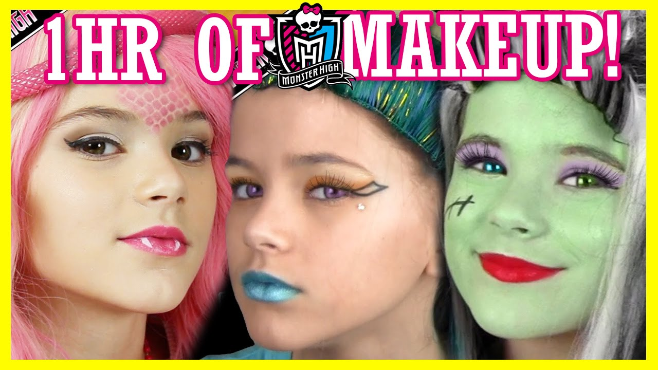 monster high makeup tutorial videos