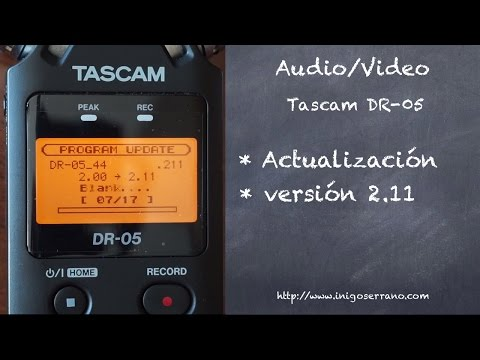 tascam dr 05 tutorial