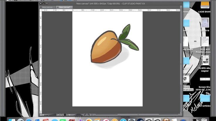 manga studio coloring tutorial