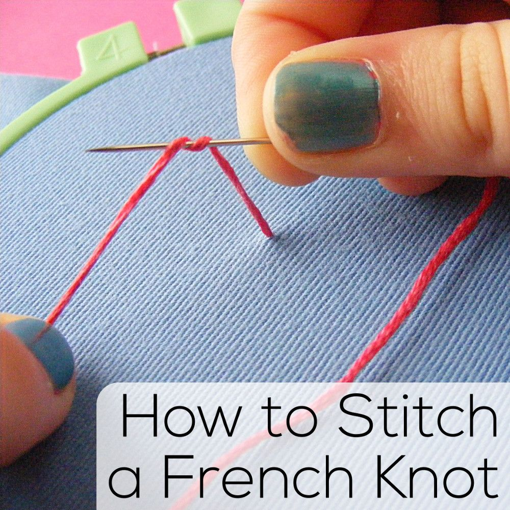 embroidery stitches tutorial video