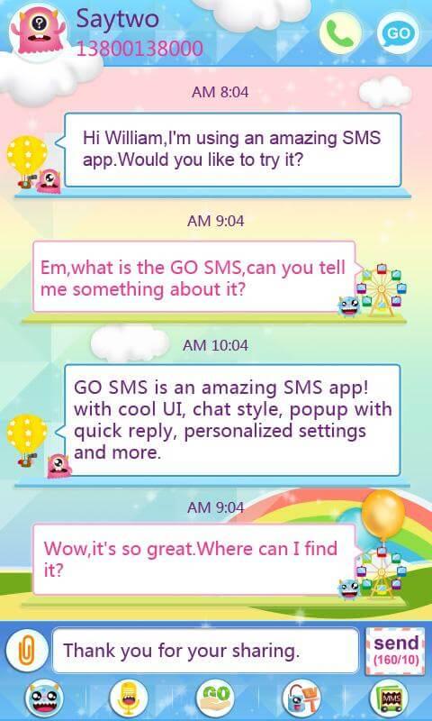 go sms pro tutorial