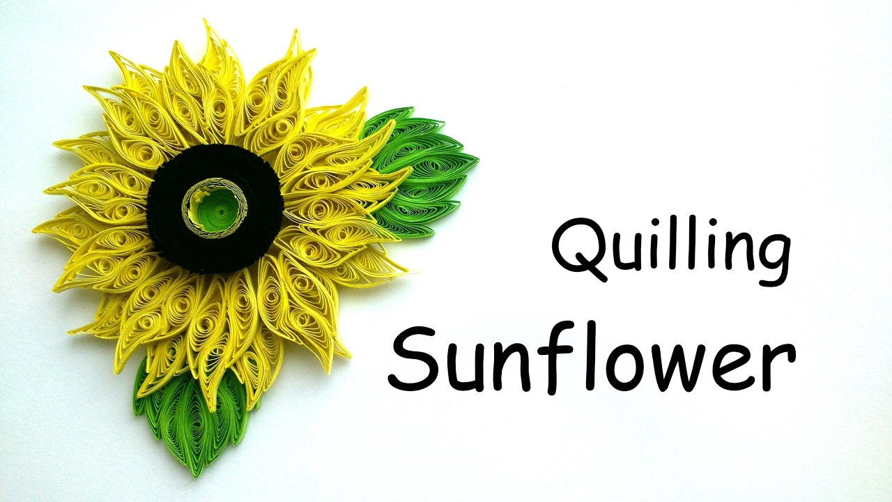quilling flowers tutorial youtube