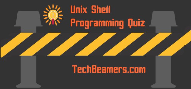 shell scripting tutorial for beginners