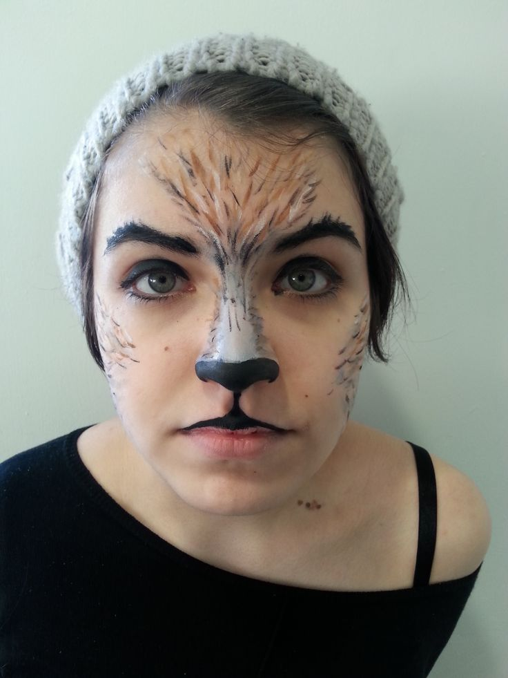big bad wolf makeup tutorial
