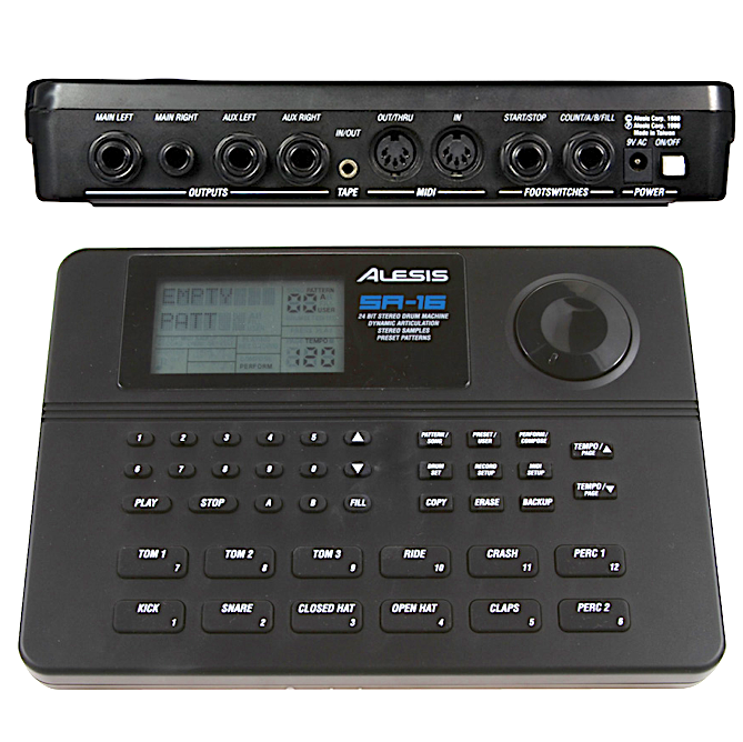 alesis sr 16 drum machine tutorial