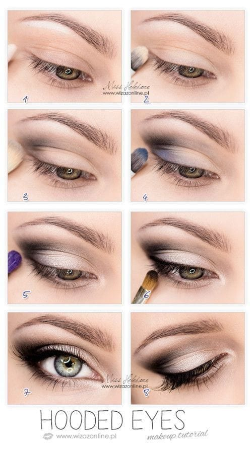 smokey eye tutorial for green eyes