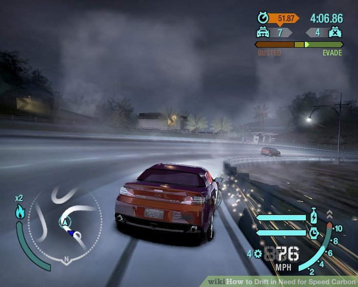 nfs carbon drift tutorial