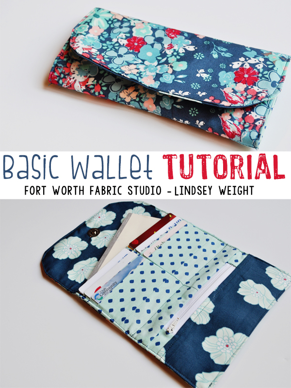fabric card holder tutorial